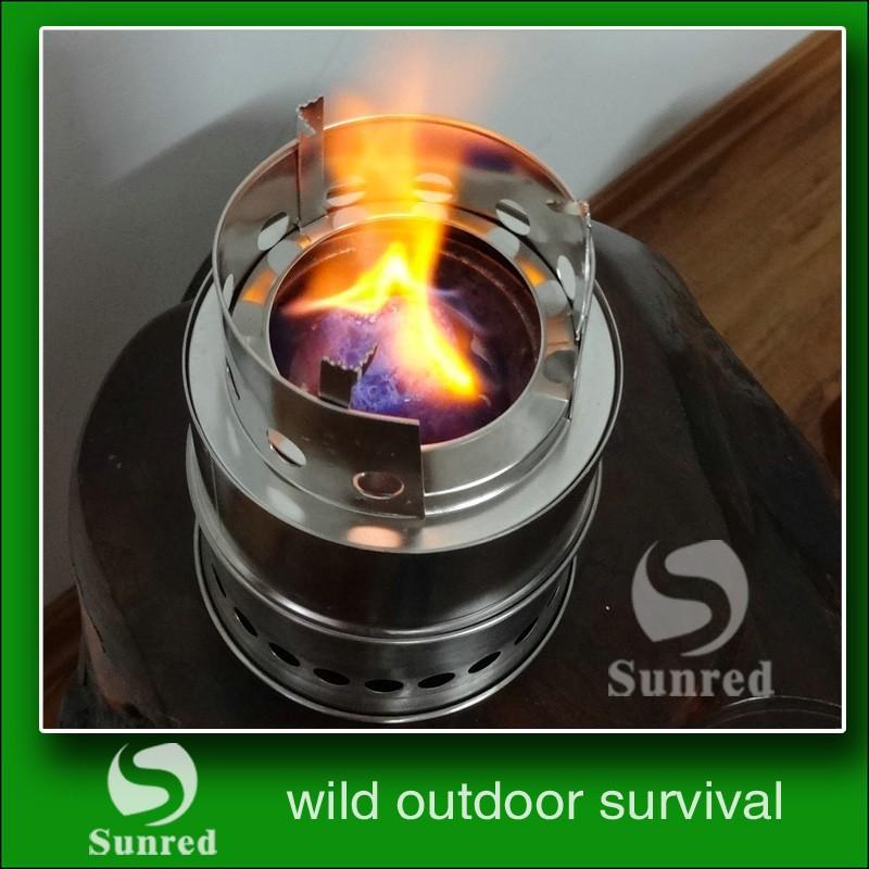 WOS עיצוב חדש מוצרי פטנט נייד נירוסטה פיקניק התנור מושלם עבור הישרדות, מחנאות או ציד.