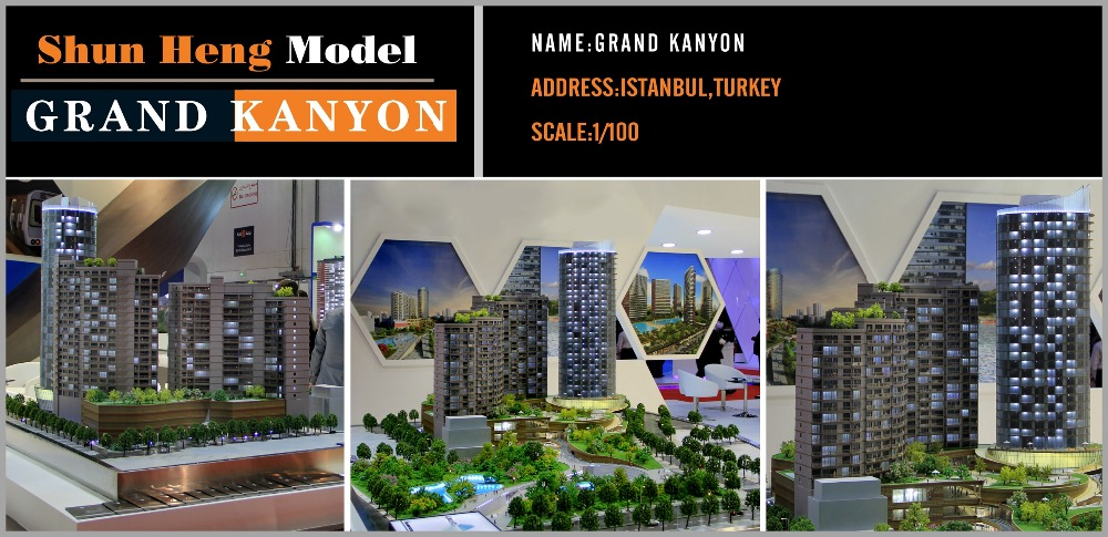 Miniature Architectural Scale Model Of Architecture Design The ...