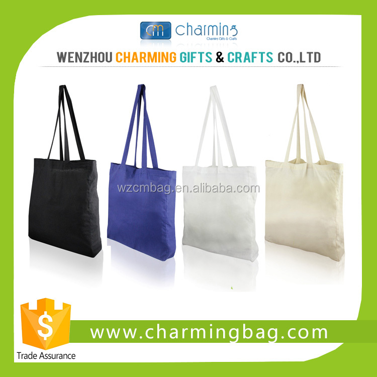Organic Colorful Cotton Bags with Customized Printing