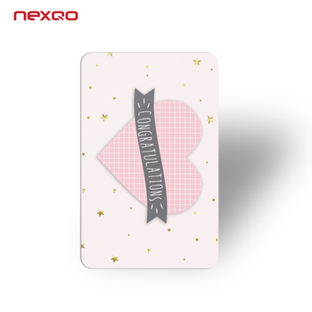 China based manufacturing membership plastic customized printing gift card maker