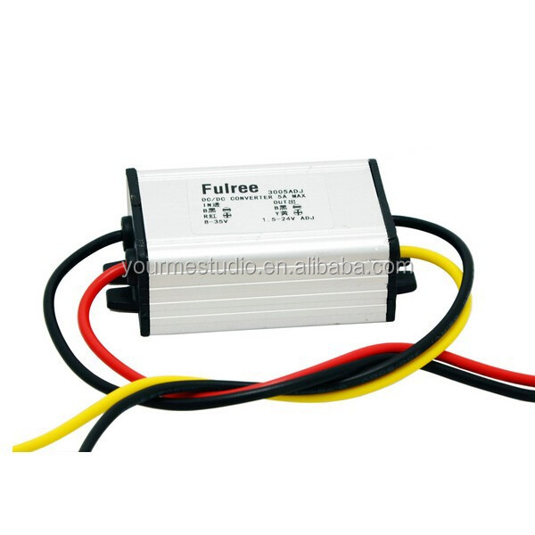 Factory Price High Current DC DC 12V Adjustable 24V To 6V 9V 3.7V 4.2V Power Converter