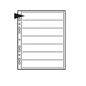 Kenro Negative File Pages 35mm Acetate Pack 25 [KNF11]