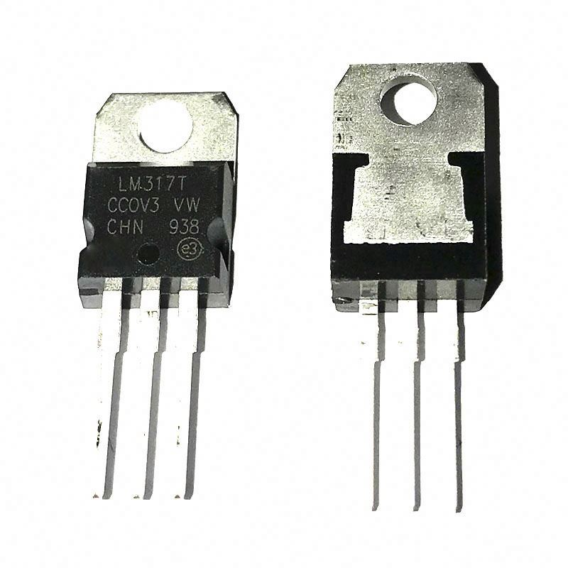 Linear Voltage Regulator IC Positive Adjustable <strong>1</strong> Output <strong>1</strong>.2 ~ 37 <strong>V</strong> <strong>1</strong>.5A TO-220AB LM317T