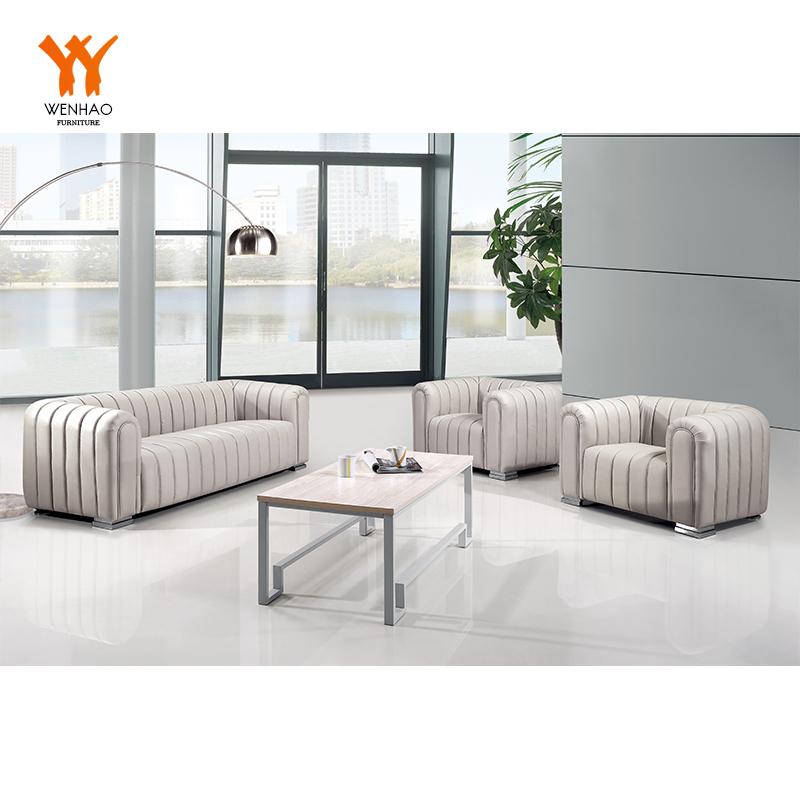 Turki modern kantor tunggal kursi sofa kulit furniture
