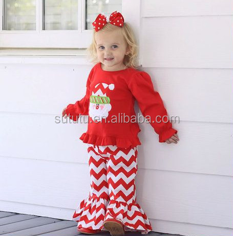 wholesale childrens boutique clothing toddler baby girls christmas outfits  importing baby clothes from China - Wholesale Childrens Boutique Clothing Toddler Baby Girls Christmas