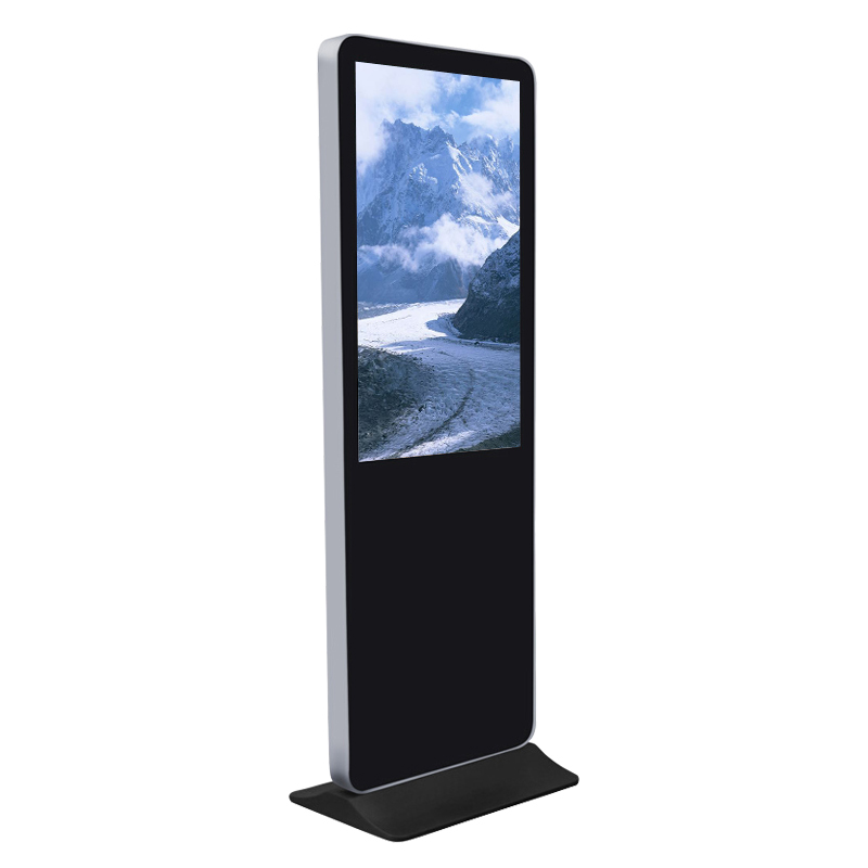 55 Inch Floor Standing Lcd Advertising <strong>Monitor</strong>