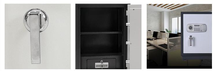 Metal burglary fire resistant gun safe fireproof security safe box