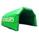Hot selling good quality green inflatable helmet tunnel agv helmet,tunnel formwork for event for sale