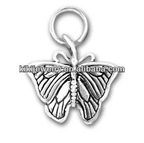 Morpho Butterfly Wholesale Charm Alloy Jewelry