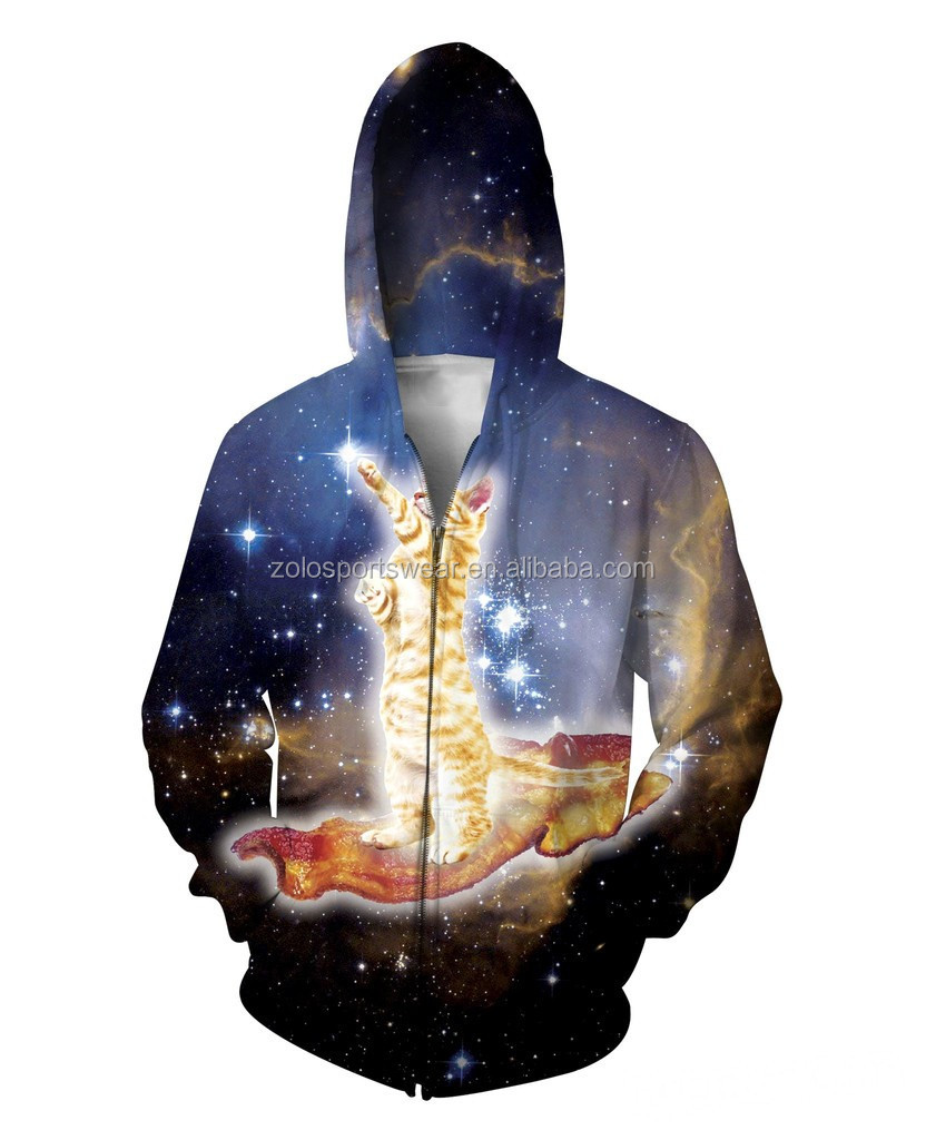 Top Quality Hoodies Cheap Sublimated Printing Mens Fashion Pullover 3D Hoodies