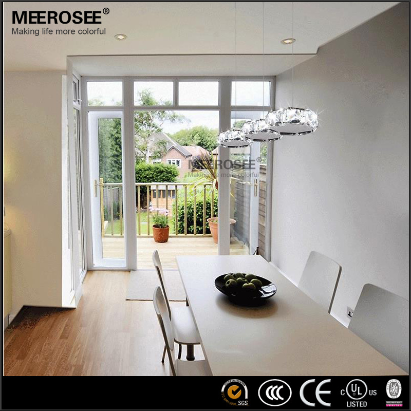 Round Design Crystal Chrome Pendant Light Discoco Pendant Lamp ...