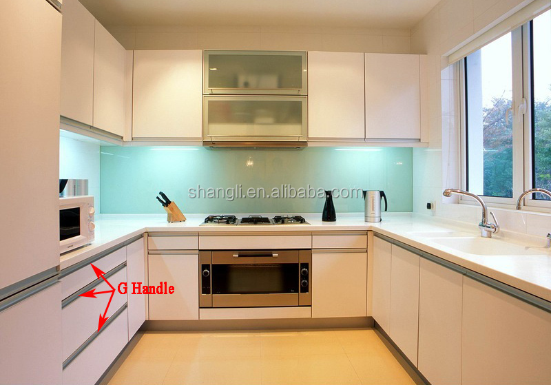 Kitchen Cabinet Door Handle Aluminum G Handle Profile Buy Aluminum Profile For Kitchen Cabinet