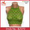 BJ070 fashionable hand crochet top teen bikini pattern models wholesale