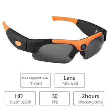 2018 Hot Sale Polarized-lenses Camcorder Eyewear Video Recorder Hidden Spy hd 1080p Sport Camera Sunglasses