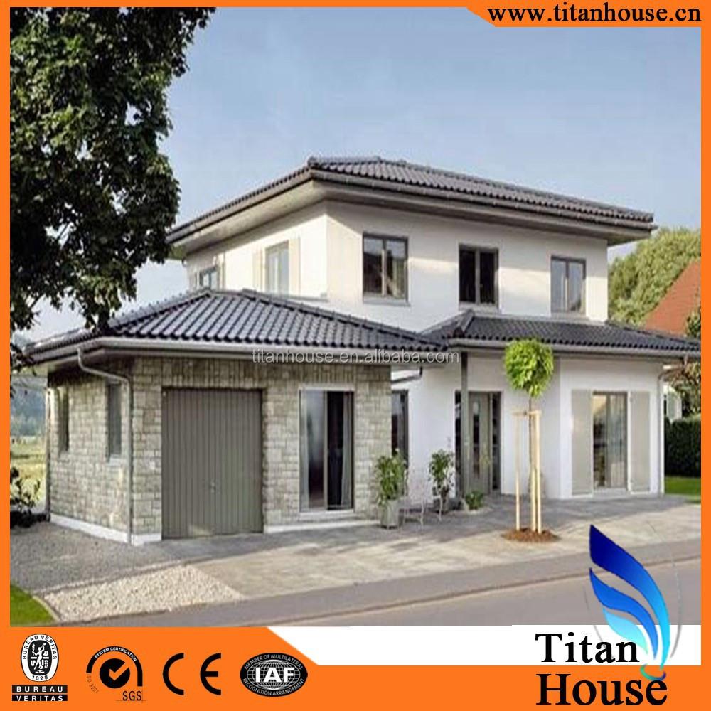 Hermoso y nico dise o de bajo costo casa prefabricada - Casas prefabricadas low cost ...