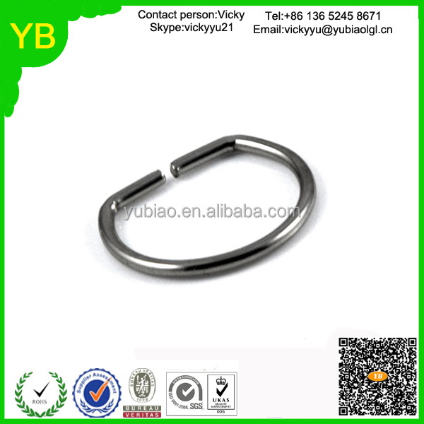custom OEM Stainless steel hasp; alloy key chain; linear spring