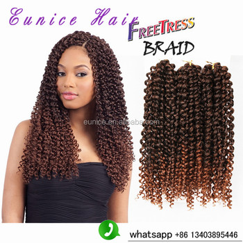 Freetress Crochet Braid Curly Hair Savanna Jerry Curl 3x ...