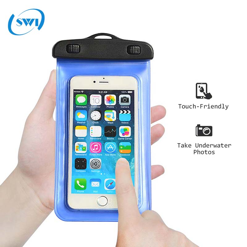 Phone <strong>accessories</strong> mobile for Iphone 8 8plus/ 7 7 plus/ 6 6s Universal Mobile Phone PVC Waterproof Case Cover Dry Bag