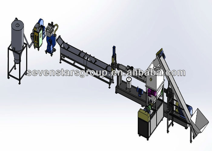 plastic pelletizing machine/plastic pelletizing line/plastic granulating machine