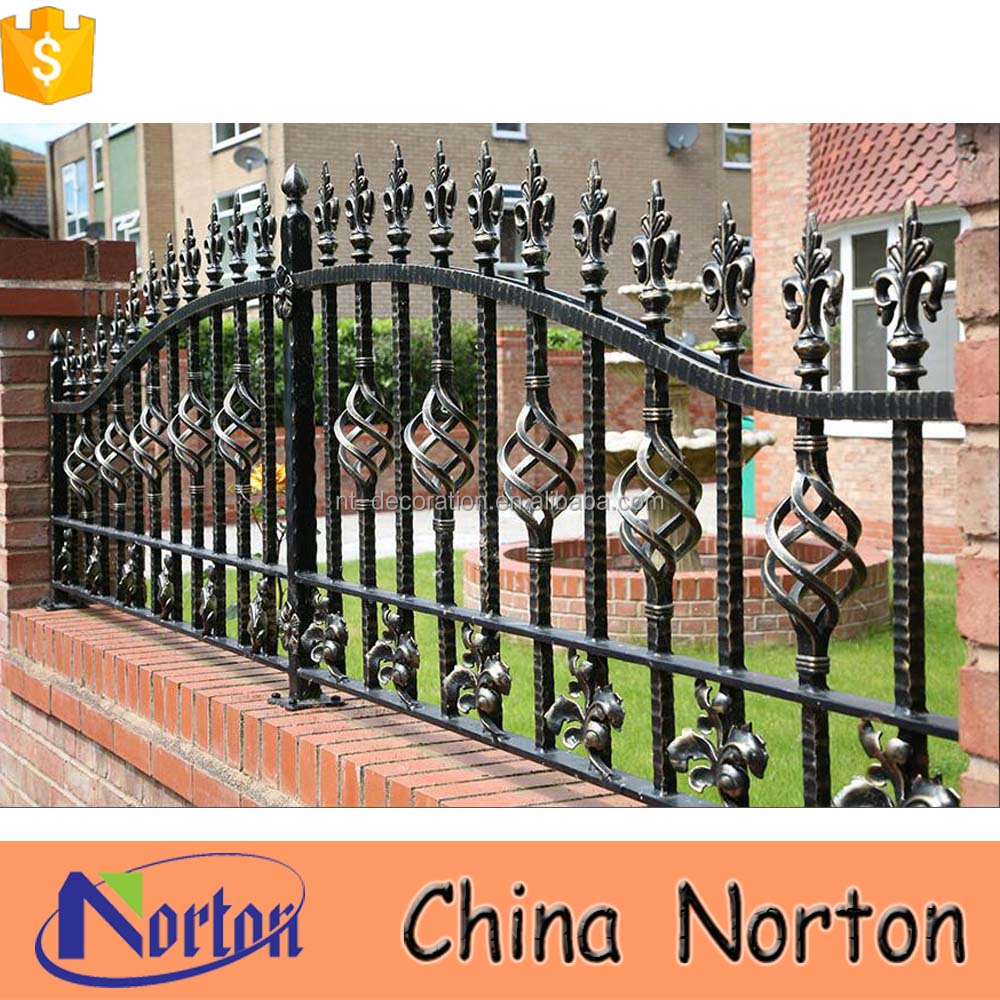 Ornamental railing panels - Wrought Iron Fencing Lowes Wrought Iron Fencing Lowes Suppliers And Manufacturers At Alibaba Com