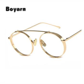 Boyarn High Quality Round Glasses Frame Vintage Women Optical ...