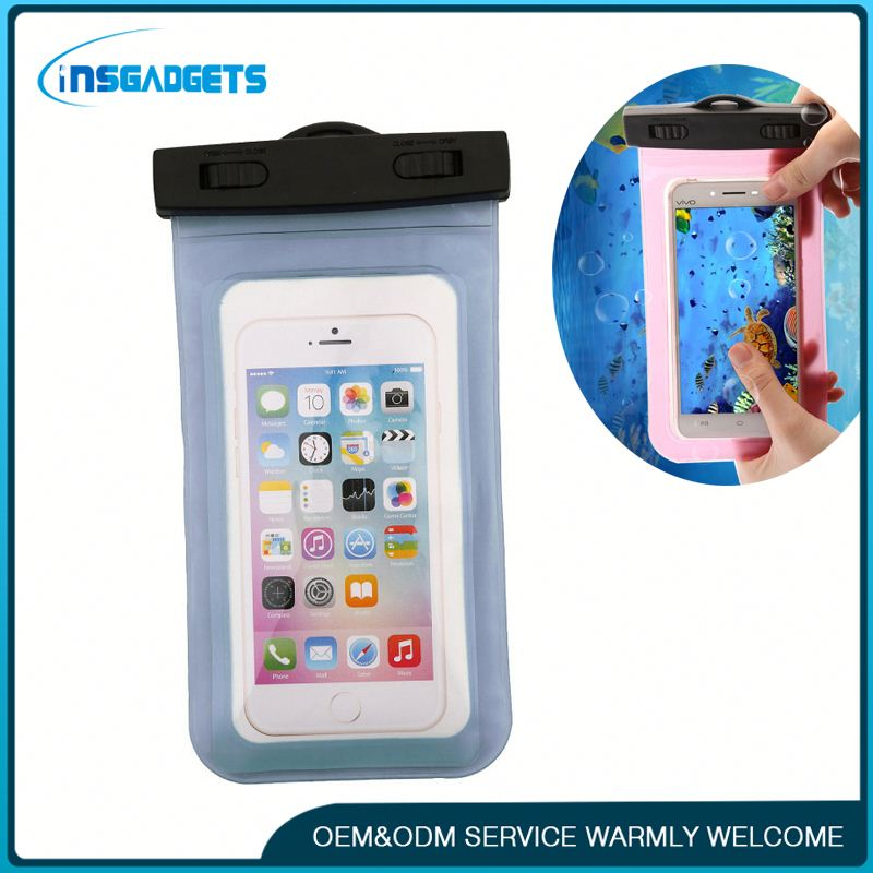 Silicone mobile phone bag h0tYG waterproof underwater mobile phone case bag for sale