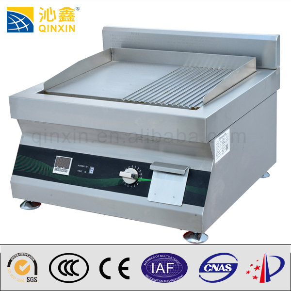 Catering Equipment western kitchen range induction griddle 5000W