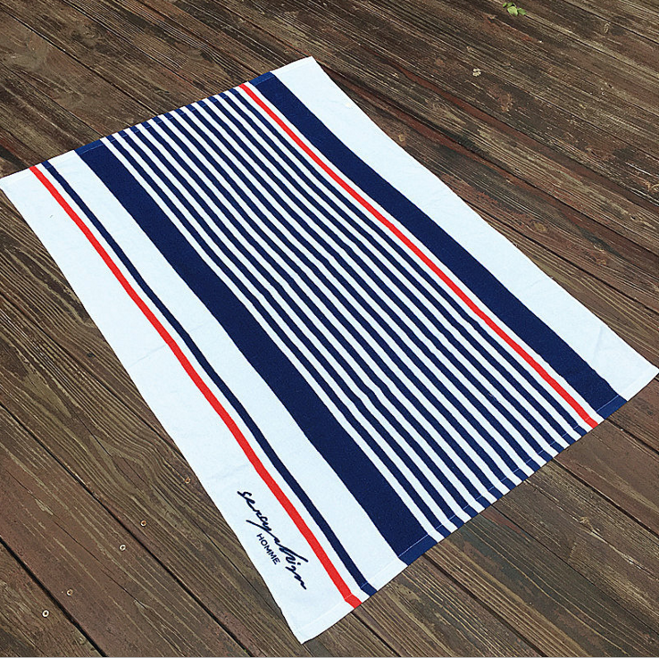 Personalized New Style Promotional Cotton Beach Towels Custom Best Quality GYM Beach Towel