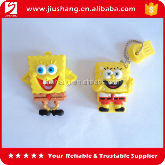 3D cartoon character bulk 1gb usb flash drive for sale