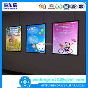 Standing led moving Message Display with Snap Open Frame aluminium profiles