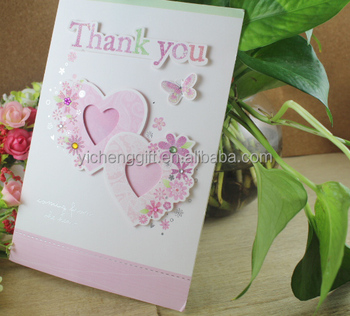 Custom Handmade Thanks Giving Greeting Card Thank You Card Buy