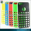 Alibaba express original style polka dot hole color hard pc case for apple iphone 5c