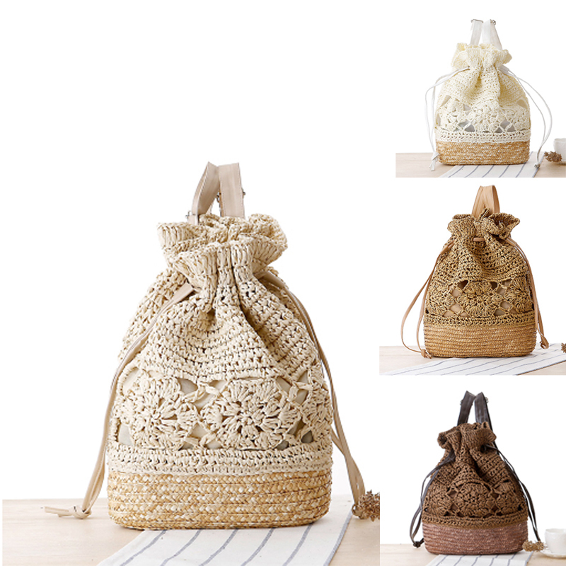 New Arrival Womens Ladys Retro classic straw Handbag Shoulder Bag Fashion Large Beach Bags Shoulder Bag beach baskets bolsas