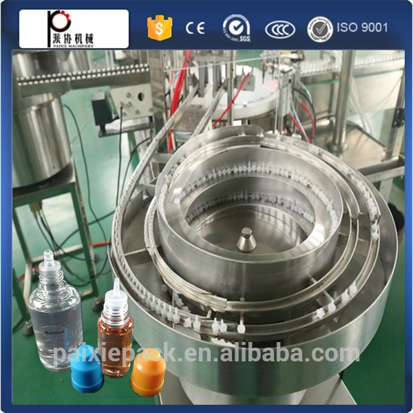 ejuice flavor bottle labeling filling packing machine e juice bottle filing machine