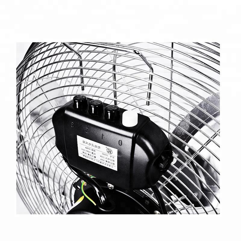 Electric Motor Industrial High Velocity Metal Blades 14 16 18 20 Inch Speed Coil Oem Floor Fan