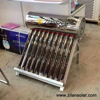 50L stainless steel mini solar water heater