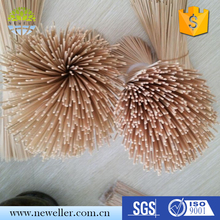 Trade Assurance Supplier not coated finishing healthy incense stick for agarbatti stick