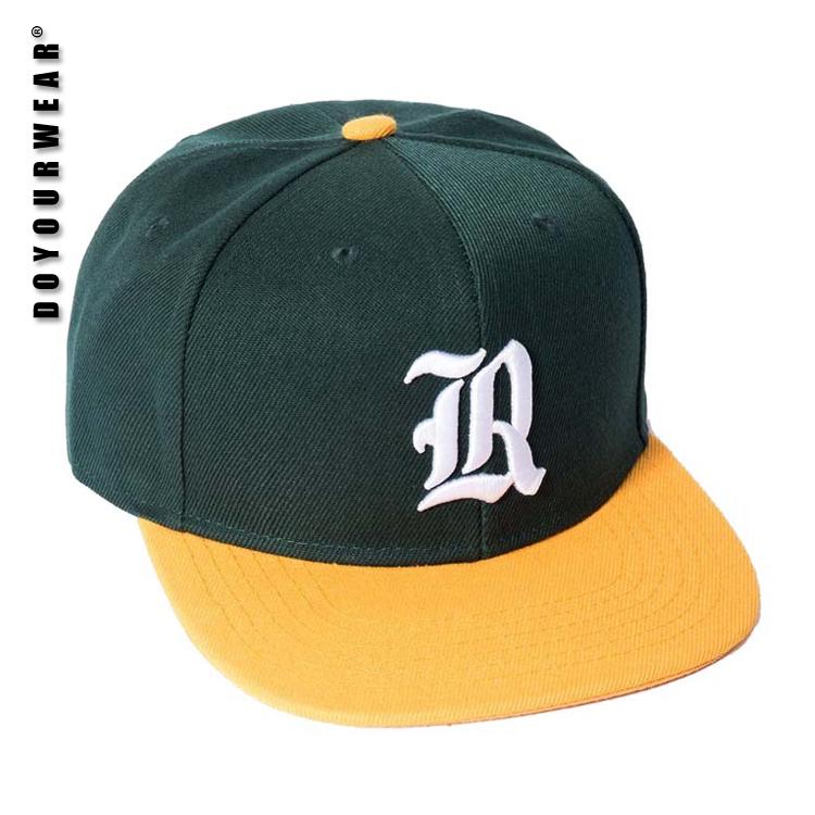 Satu ukuran fit semua dilengkapi topi hip hop topi snapback kustom