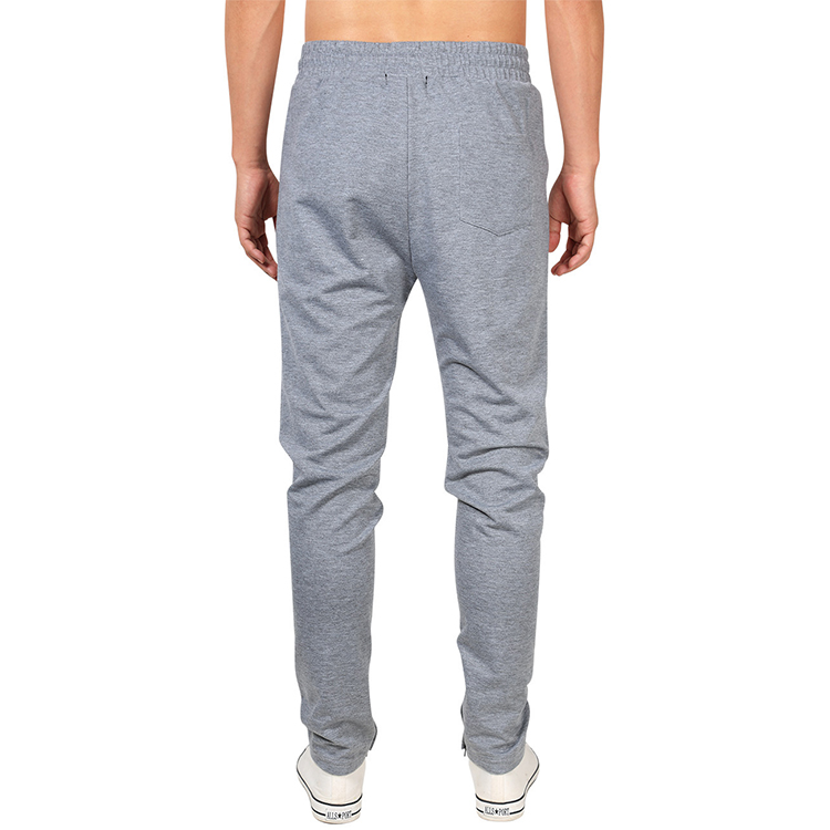 Cheap best quality cotton polyester custom Fitted jogger sweatpants men