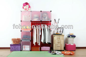 Red Storage Cube Shelf And You Can Make Up Colors With Your Own