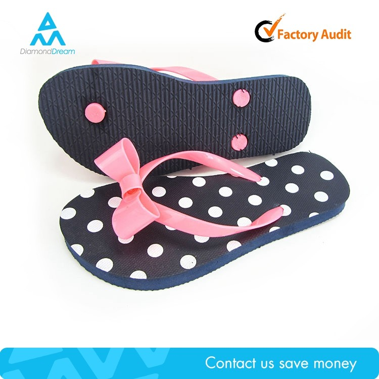 girls' sandal slipper , latest design cute nude beach girl slipper