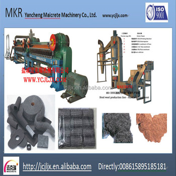German technology Steel wool machine with best quality