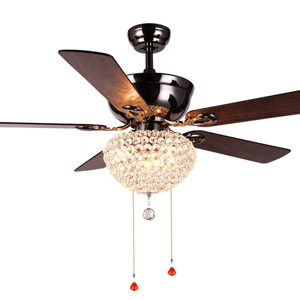 Aorakilights American Style Ceiling Fan Light Chandelier Household Bedroom Dining Room Living Countryside Vintage Eletric