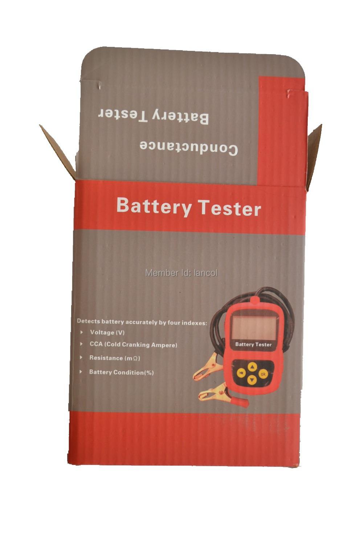 Мото аккумулятор тестер MICRO-30 для малого автомастерскую / гараж