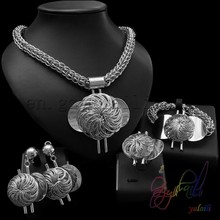 22ct indian gold jewellery Bridal Party Jewelry Sets fashion heavy jewelry set