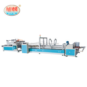Dongguang folder gluer used to folding gluing machine