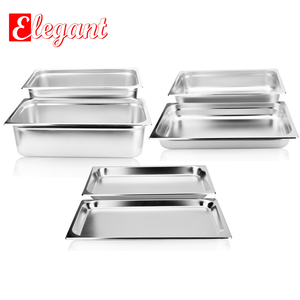 EU style anti-jam steam table pan GN pan gastronorm container for hotel equipment