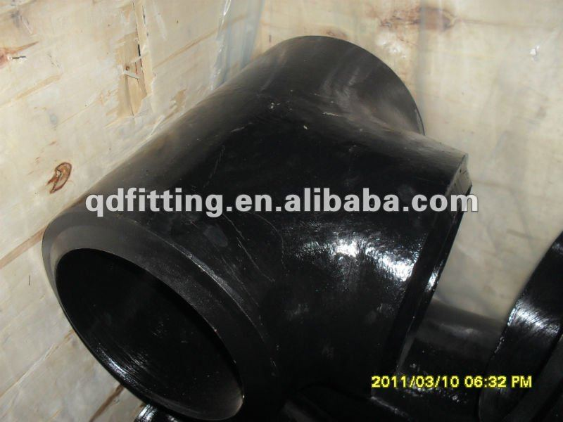 carbon steel fabricate gas pipe fitting elbow tee made by manufacture