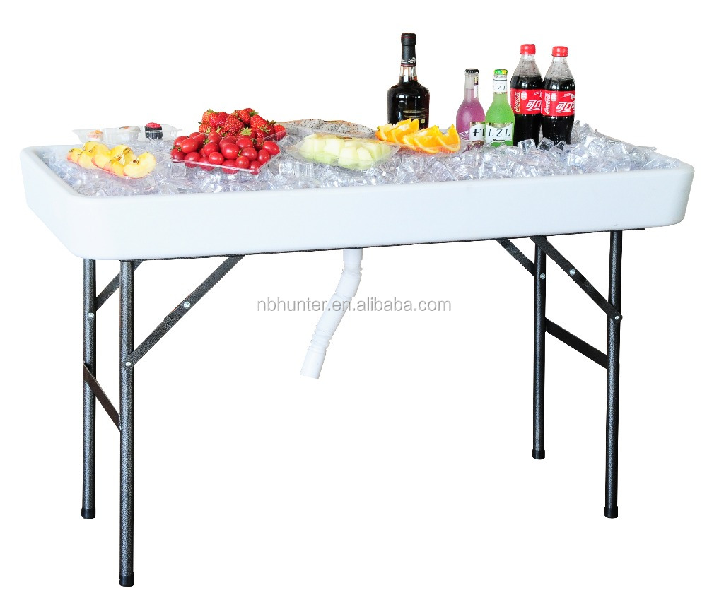 Bon Plastic Ice Table Cooler Table Chill Table With Sink Pipe   Buy Plastic Ice  Table,Cooler Table,Chill Table Product On Alibaba.com