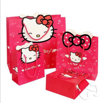 14f8bc97ee Red Hello Kitty Paper Bags Manufacturers In China - Buy Hello Kitty ...